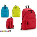 backpack 3 assorted colors clear