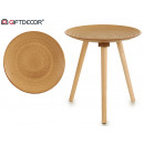 wholesale furniture: coffee table 3 legs camel