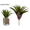 wholesale Artificial Flowers: aloe vera plant colors 2 times assorted