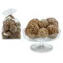 big bag natural decorative balls