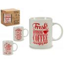 jarra mug coffee rojo, modelos 4 veces surtido sur