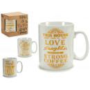 jarra mug coffee oro gr, modelos 4 veces surtido s