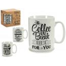 jarra mug coffee negro gr, modelos 4 veces surtido