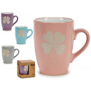 wholesale Household & Kitchen: jug mug clover, colors 4 times assorted