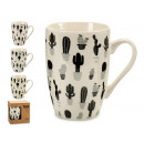 mug mug cactus 4 designs assorti
