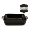 wholesale Pots & Pans: 600ml black square casserole