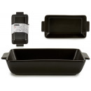 wholesale Pots & Pans: black medium rectangular casserole