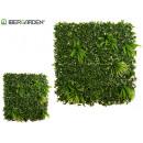 1x1m artificial fern vertical garden