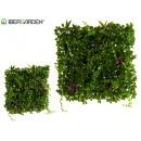 wholesale Artificial Flowers: 50x50cm violet artificial vertical garden