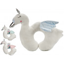 wholesale Toys: neck cushion 39x30 swan, 3 times assorted