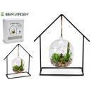 wholesale Heating & Sanitary: Hanging plant fish tank 5led cactus forge