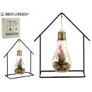 groothandel Verlichting: 5led lavendel hanglamp smeden