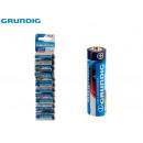 grossiste Batteries et piles: GRUNDIG - blister 12pilaszinc aa r6 975mAh