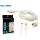 wholesale Cables & Plugs: GRUNDIG - USB charging cable 1 meter