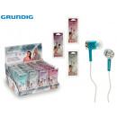 GRUNDIG - chromed headphones