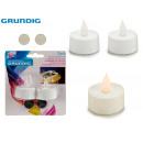 GRUNDIG - set of 2 tealightsy batteries 2xcr2032