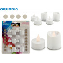 GRUNDIG - set of 16 tealighty batteries 16xcr2032