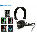 wholesale Consumer Electronics: GRUNDIG - stereo headphones neon6 times assorted