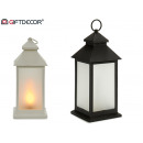 Plastic flame lantern 24 led large sur2