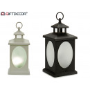 plastic lantern 4 led rotating water effect 2 time