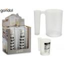 1.2l double-use plastic measuring jug