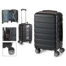 Kofferkabine abs schwarzen Streifen horizontal