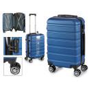 Großhandel Koffer & Trolleys: Koffer Kabine abs blauen Streifen horizontal