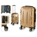 suitcase cabin abs gold shapes