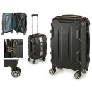wholesale Suitcases & Trolleys: suitcase cabin abs black shapes