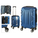 suitcase cabin abs blue shapes