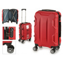 suitcase cabin abs red shapes
