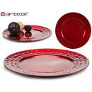 ingrosso Decorazioni: decorazione tavolo centrale plastica rosso geo