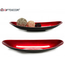 wholesale furniture: center table decoration plastic oval large red