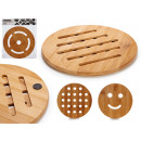 round bamboo table mat diameter 19cm, 4 times s
