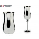 wholesale Drinking Glasses:large silver glass cup