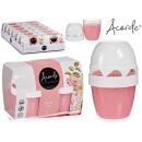 mayorista Salud y Cosmetica: conjunto de 2 ambientadores gel 140gr x 2 rosa