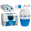 set of 2 gel air fresheners 140gr x 2 ocean