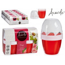 set of 2 gel fresheners 140gr x 2 strawberry