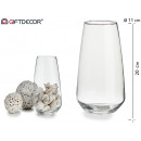 wholesale Home & Living:tall conical glass vase