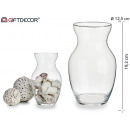 tall amphora glass vase