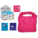 grossiste Bagages et articles de voyage: sac à provisions réutilisable, couleurs 3 fois ass