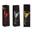 bag paper gift glasses cheers assorted