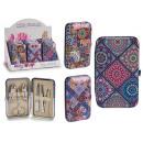 manicure set case, 3 times assorted Meuse