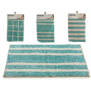 wholesale Bath & Towelling: blue carpet 40x60cm, 4 times assorted Models