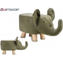 wholesale Small Furniture:stool grey elephant