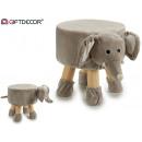 mayorista Casa y decoración: taburete infantil elefante