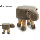 wholesale Small Furniture: stool infant hippopotamus