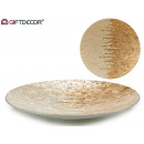 wholesale furniture: round nacar silver table center 45cm