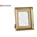 curved gold photo frame 15 x 20 cm