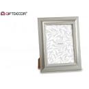 silver photo frame 15 x 20 cm